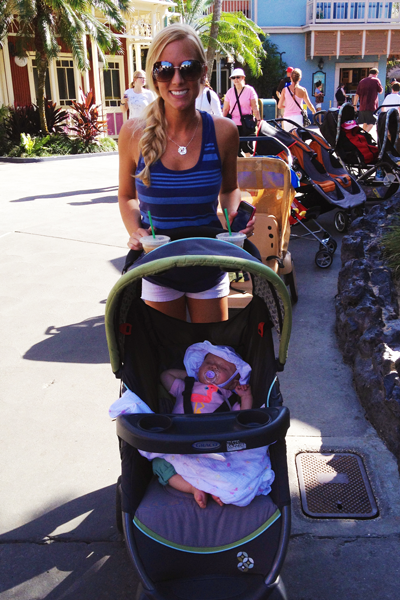 Starting Disney out with a nap
