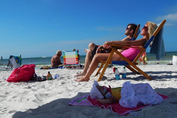 Family Beach Day | Clearwater Beach