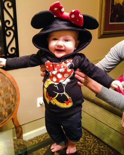 Our little Minnie Mouse