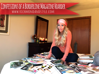 Confessions Of A {Borderline} Magazine Hoarder