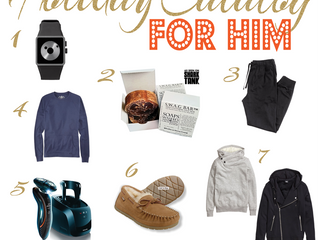 Holiday Catalog: For Him