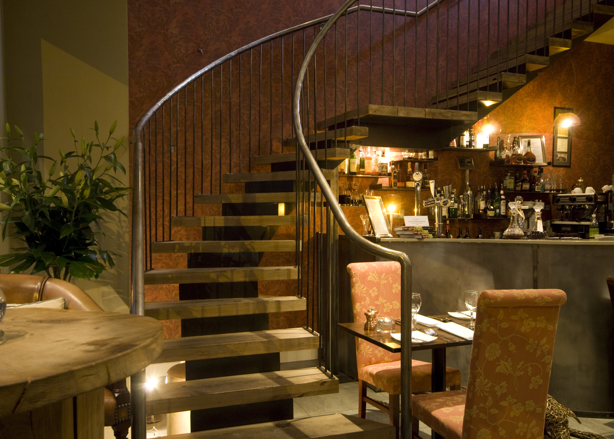 Greens Restaurant stair design