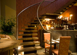 Greens Restaurant stair design