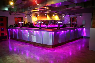 RAW Nightlife main bar design