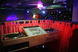 RAW Nightlife dj booth