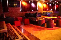 RAW Nightlife main bar seats