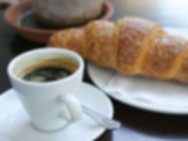 Great Coffee and Fresh Croissants in Mouille Point
