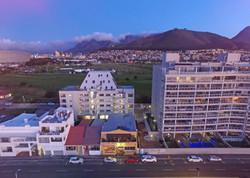 Dolphin Inn Aerial View