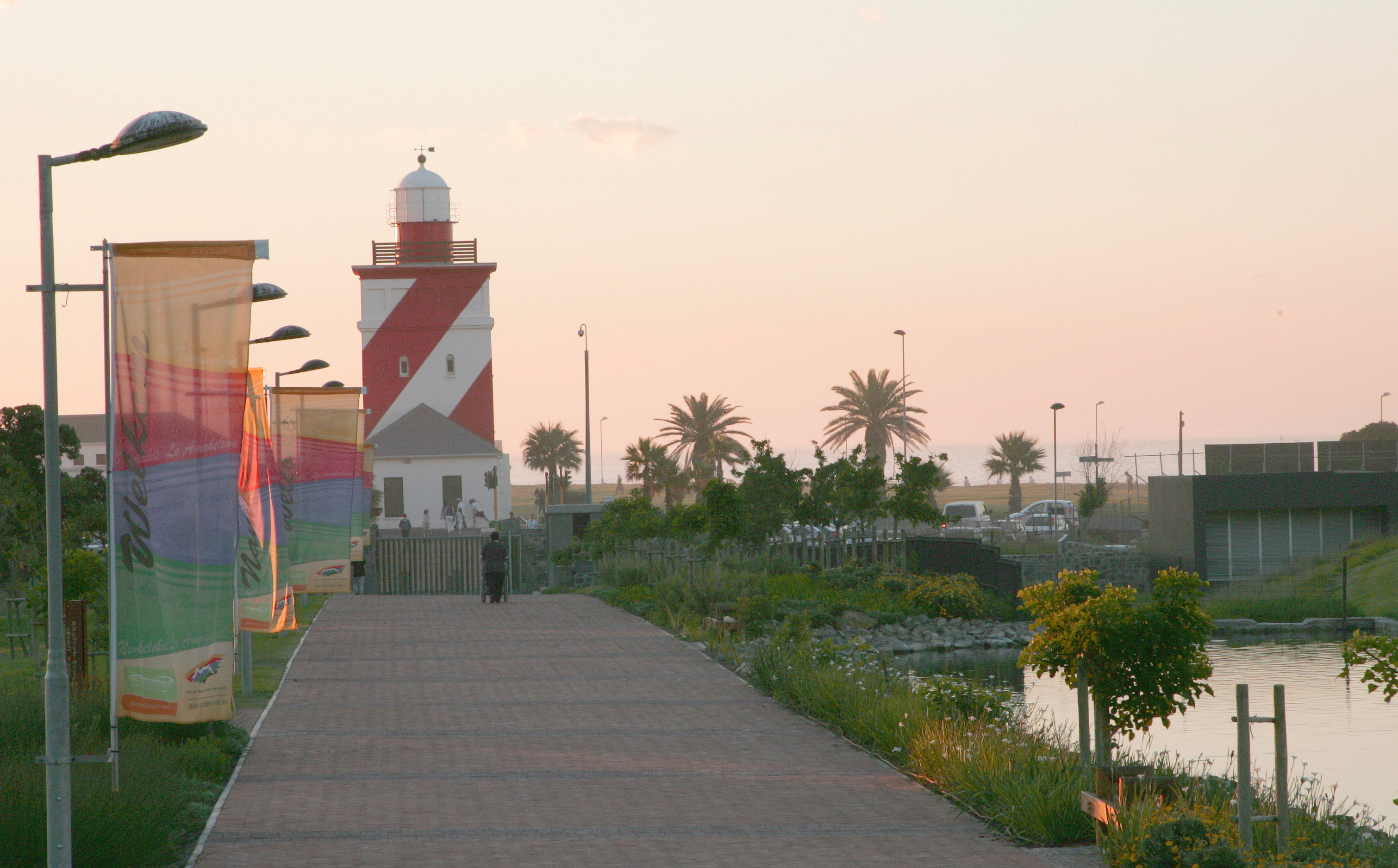 Green Point Urban Park with Lighthouse