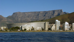 CT Stadium and Table Mountain