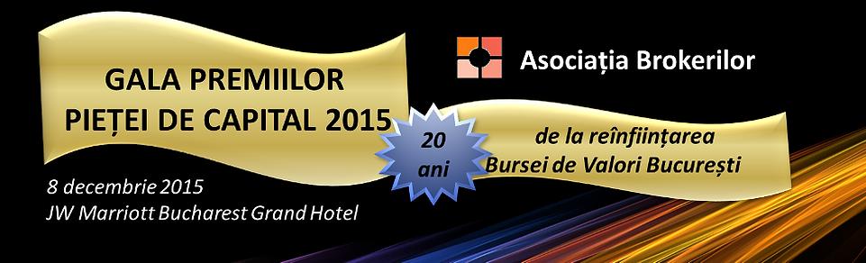 gala premiilor pietei de capital 2015