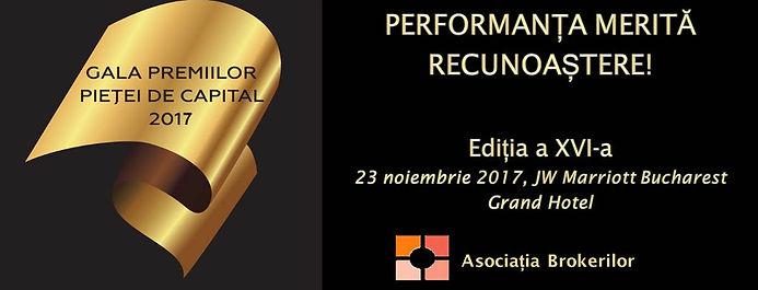 gala premiilor pietei de capital 2017