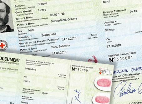 New ICRC Emergency Traveldocument