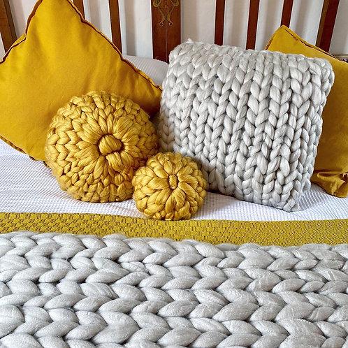 Handmade Chunky Cushions & Throws