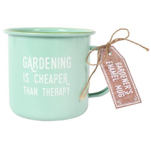 Gardeners Enamel Mug