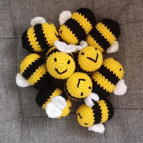 Handmade Crochet Bee