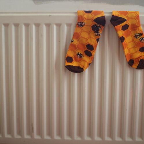 Save The Bees Bamboo Socks