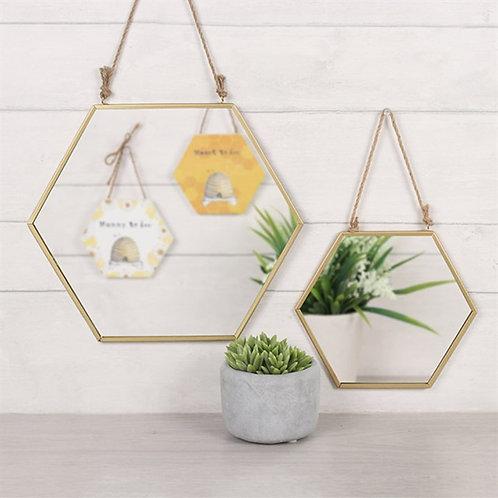 Bee Hive Geometric Mirror