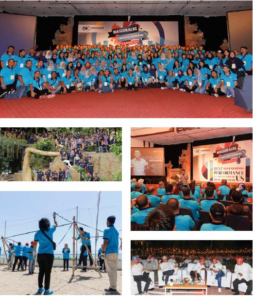 Employee Gathering NasionalRe 2018, Bali