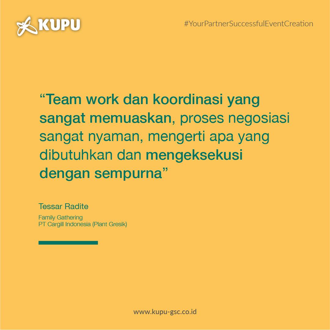 Testimoni Klien Cargill Indonesia