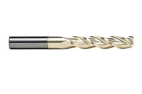"ø 3/8"" x 1-7/8"" LOC x 4"" OAL, 3FL, High Performance  Carbide End Mill, Coated"