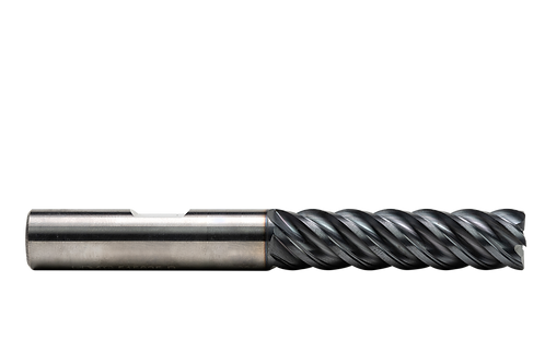 "ø 5/8"" x 2-1/2"" LOC x 5"" OAL, 5FL, High Performance Carbide End Mill, .030R, Coa"