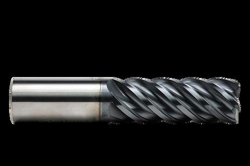 "ø 1"" x 2-3/4"" LOC x 5"" OAL, 5FL, High Performance Carbide End Mill, Coated"