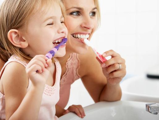Toddlers, treats, & Teeth.