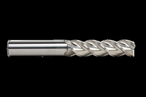 "ø 5/8"" x 2-1/2"" LOC x 5"" OAL, 3FL, High Performance Carbide End Mill, Coated"