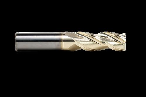 "ø 1/2"" x 1-3/8"" LOC x 3"" OAL, 3FL, High Performance Carbide End Mill, Coated"