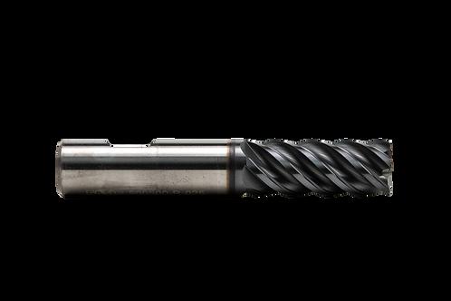 "ø 1/2"" x 1-1/4"" LOC x 3"" OAL, 5FL, High Performance Carbide End Mill, .025R, Coa"