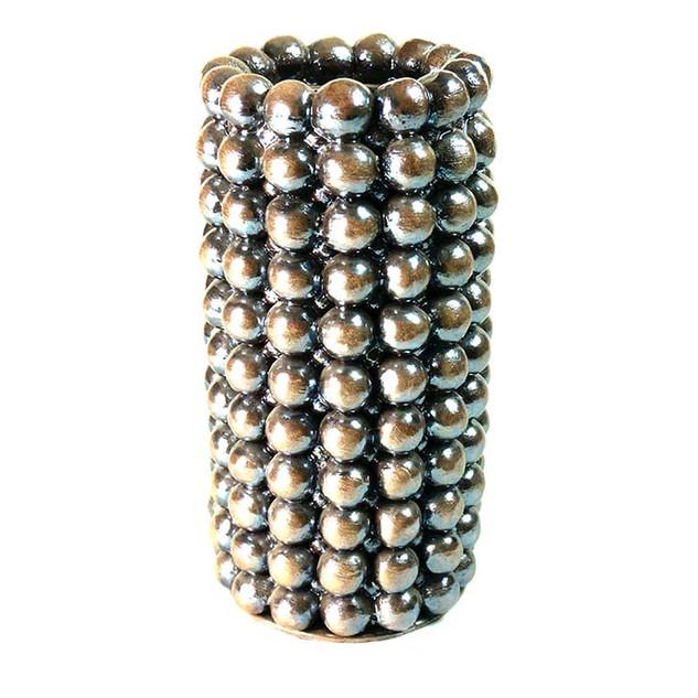 """Vase """"Boulimique""""  Chrome"""