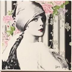 """Carreaux """"femmes"""" 10x10 cm"""
