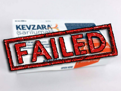Kevzara Fails in Phase 3 Clinical Trial