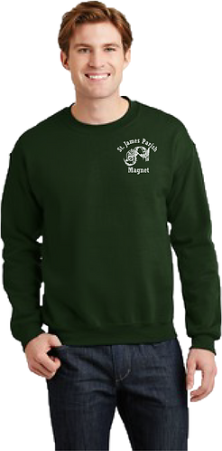 Adult Sweatshirt - Embroidered - Official Magnet logo