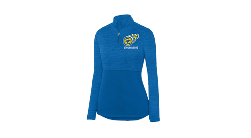 SCC Swim Team Ladies Shadow Tonal Heather Pullover