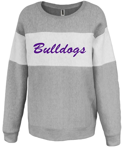 LHS Track Ladies Bulldog Sweatshirt