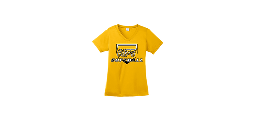 007s Ladies Tee - Gold