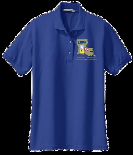 Ladies Cotton/Poly Polo Shirt