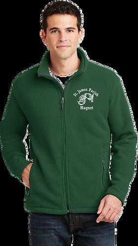 Adult Fleece Jacket - Embroidered Magnet Logo