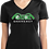 Thumbnail: Ladies PosiCharge® Competitor™ V-Neck Tee