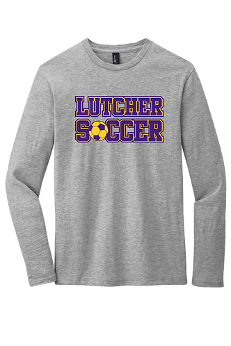 """Lutcher Soccer"" Long Sleeve Cotton Tee"