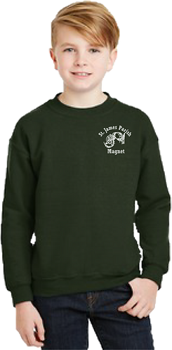 Youth Sweatshirt - Embroidered - Official logo