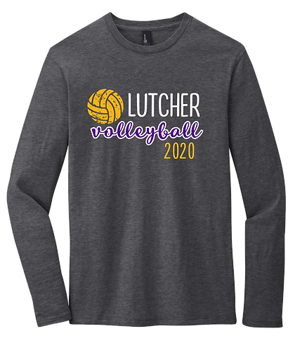 2020 Lutcher Volleyball LS Tee