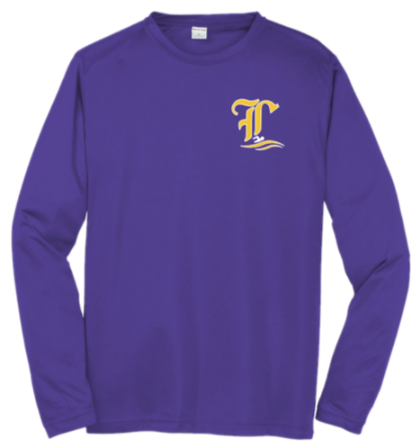 LHS Swim Team Dri-Fit LS Tee