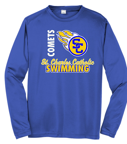 SCC Long Sleeve - Dri-Fit - Swim Tee