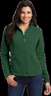 Ladies Fleece Jacket - Embroidered