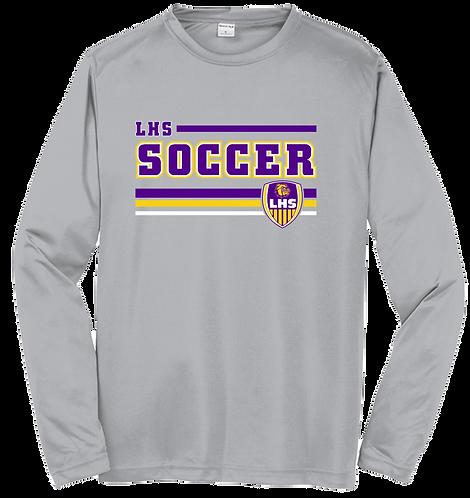 Lutcher Soccer Solid Dri-Fit LS Tee