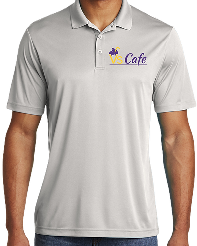 V's Cafe Mens Dri-Fit Polo Shirt