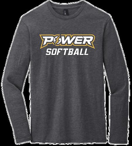 Power Softball LS Tee